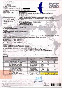 SGS - BITUMEN to TAIWAN