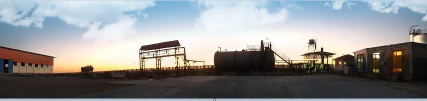 Bandar Abbas bitumen refinery in Iran